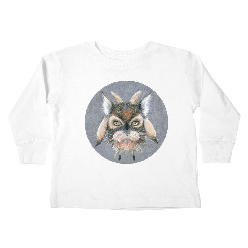 Catpricorn Kids Toddler Longsleeve T-Shirt by Bad Kerning by castinbronze