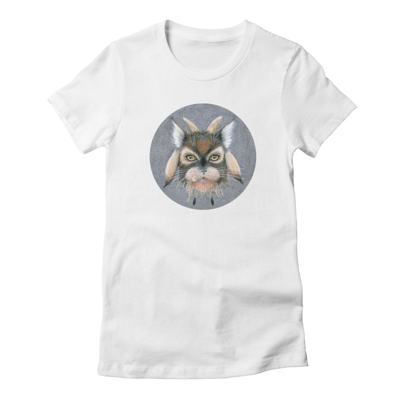 Catpricorn Women's Fitted T-Shirt by Bad Kerning by castinbronze