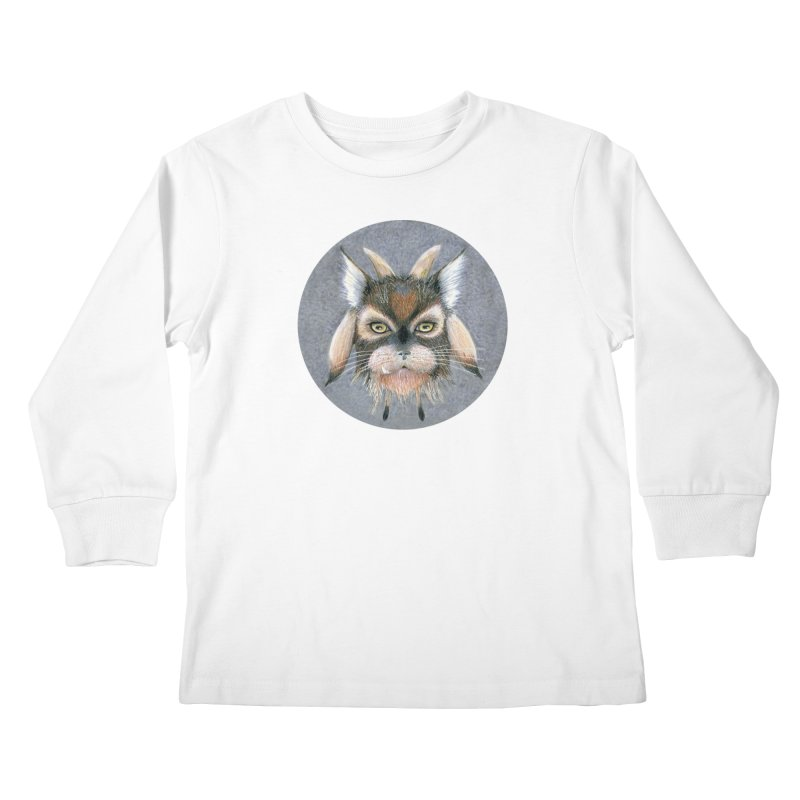 Catpricorn Kids Longsleeve T-Shirt by Bad Kerning by castinbronze