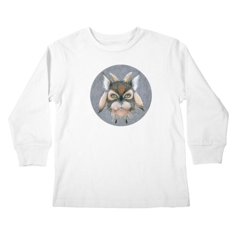Catpricorn Kids Longsleeve T-Shirt by castinbronze design