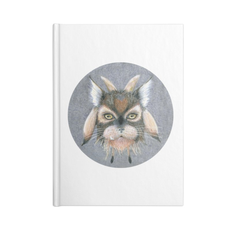 Catpricorn Accessories Lined Journal Notebook by Bad Kerning by castinbronze