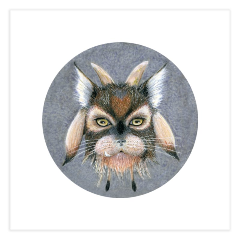Catpricorn Home Fine Art Print by Bad Kerning by castinbronze