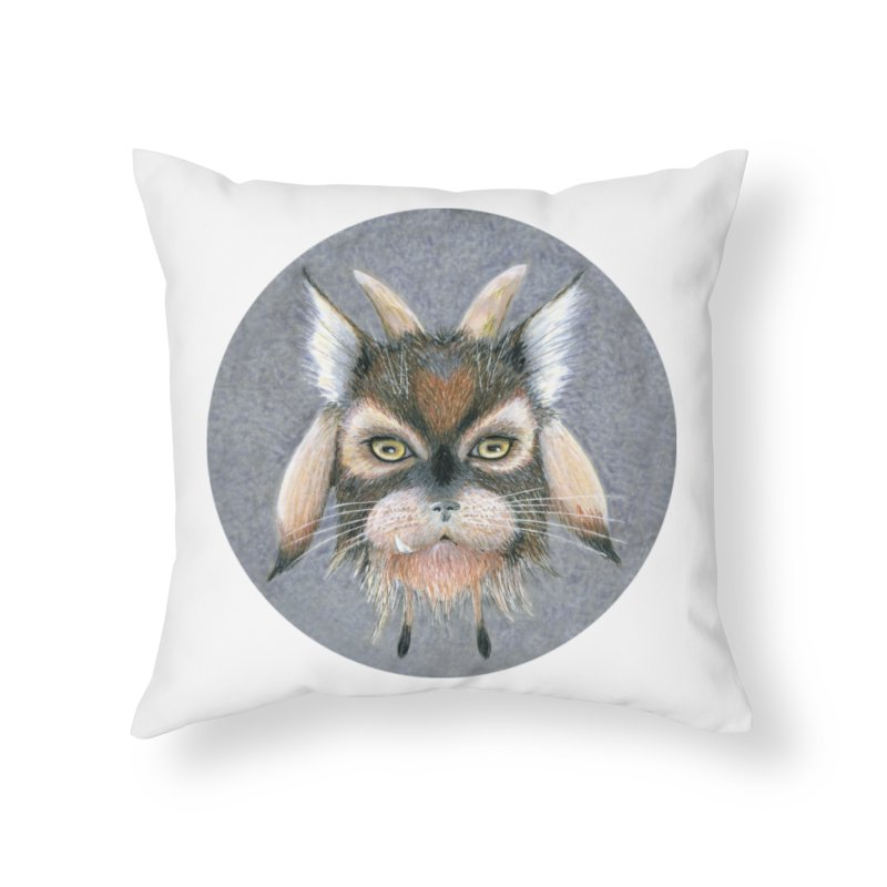 Catpricorn Home Throw Pillow by castinbronze design