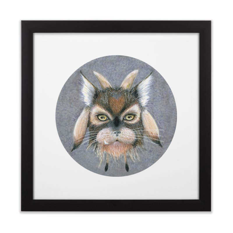 Catpricorn Home Framed Fine Art Print by Bad Kerning by castinbronze