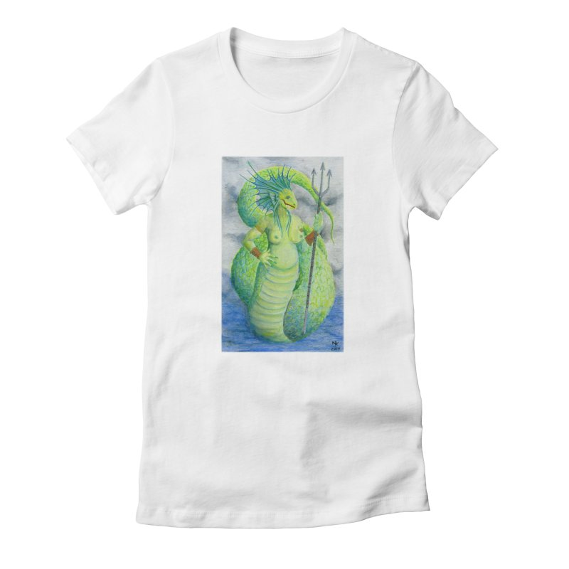 Waccane I Women's Fitted T-Shirt by castinbronze design