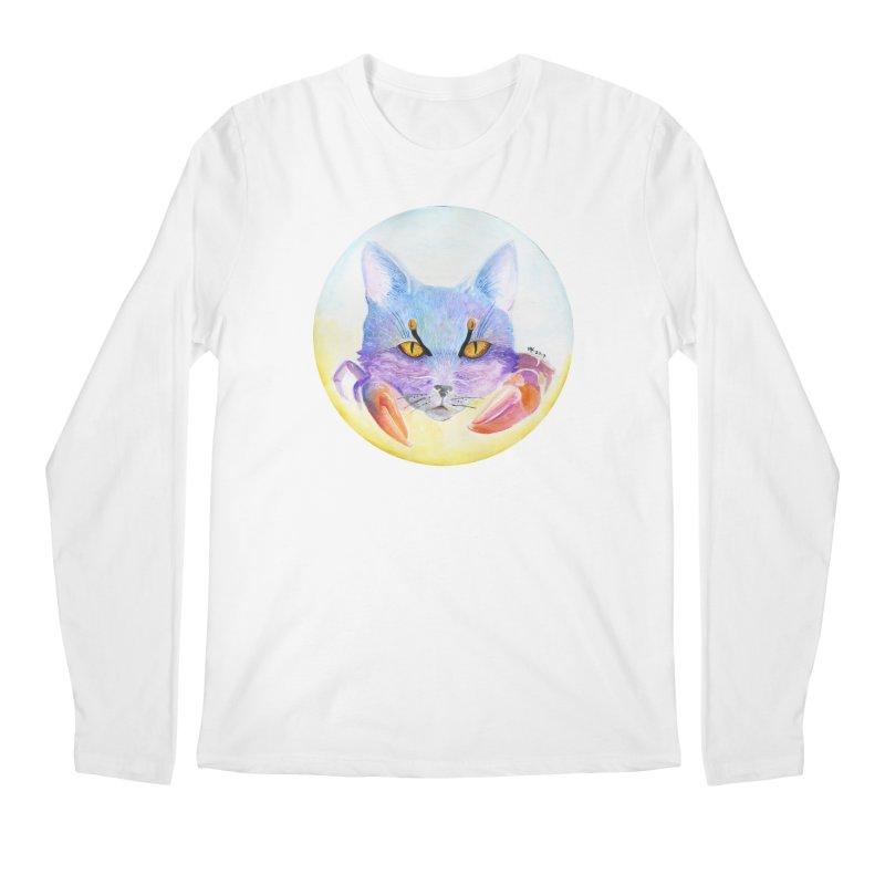 Pouncer Men's Regular Longsleeve T-Shirt by Bad Kerning by castinbronze