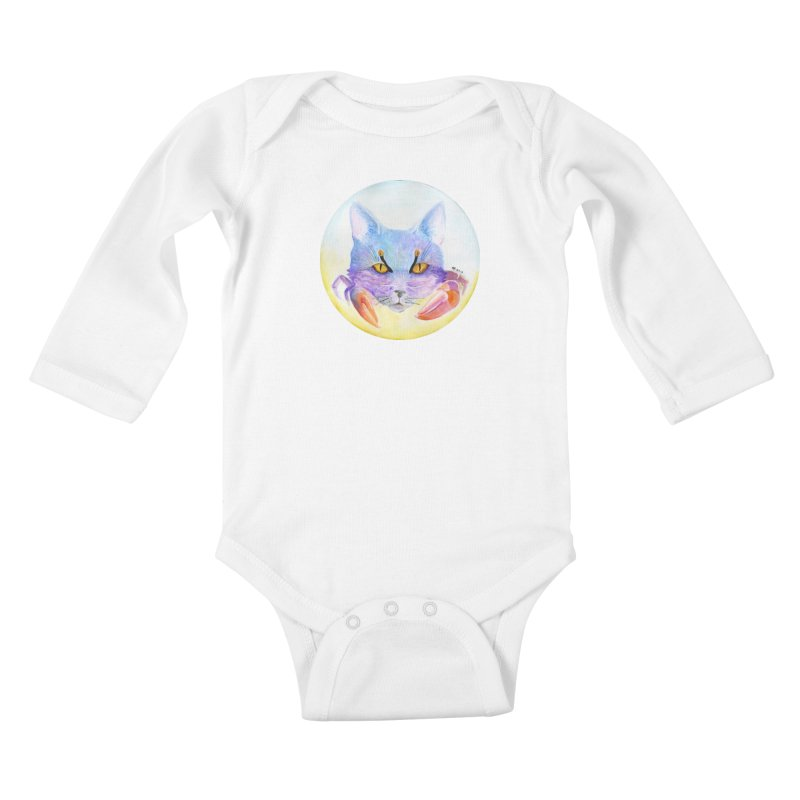 Pouncer Kids Baby Longsleeve Bodysuit by Bad Kerning by castinbronze