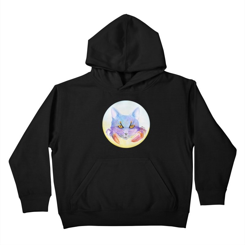 Pouncer Kids Pullover Hoody by castinbronze design