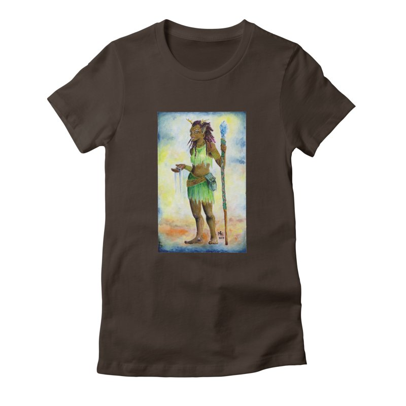 Wameya I Women's Fitted T-Shirt by Bad Kerning by castinbronze