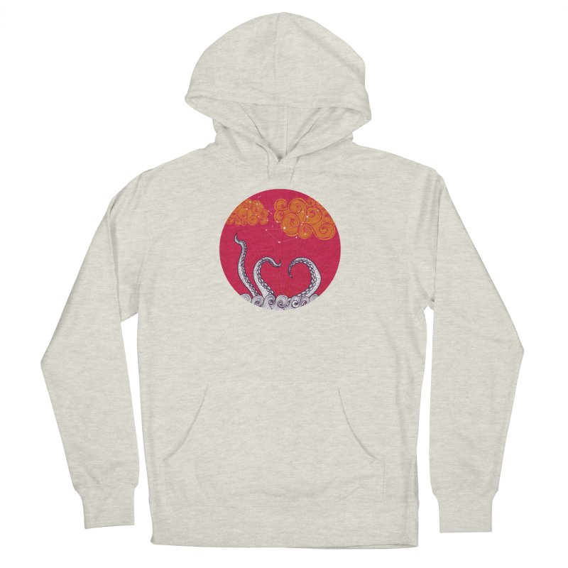 Kraken and Clouds Women's Pullover Hoody by catalinaillustration's Shop