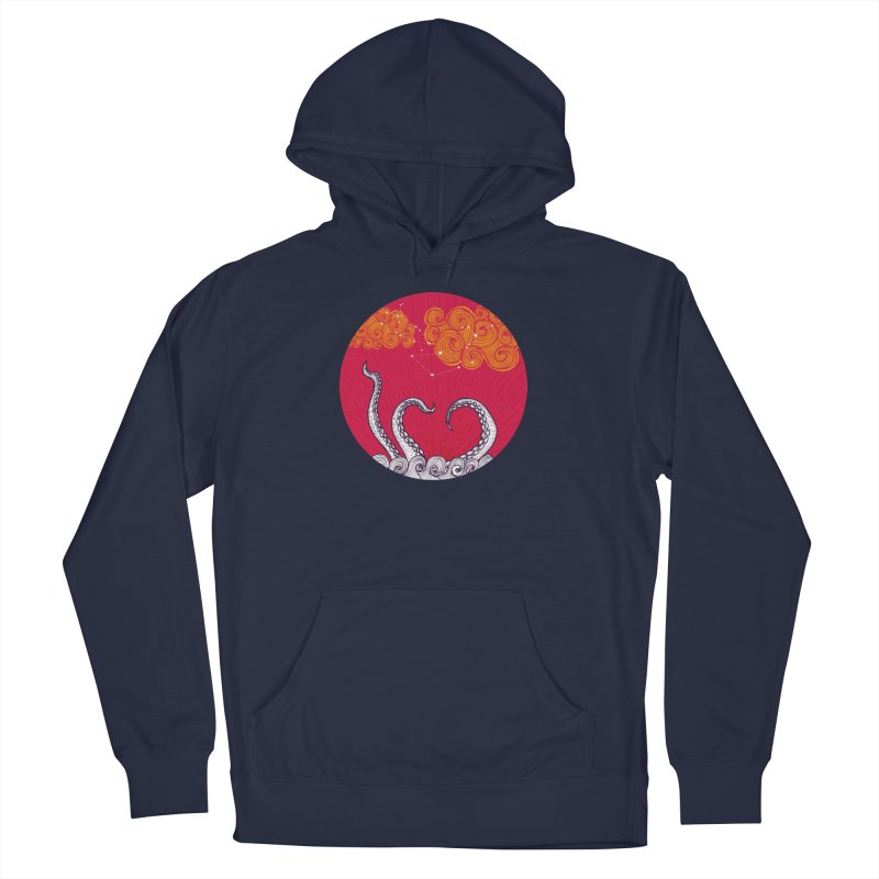 Kraken and Clouds Men's Pullover Hoody by catalinaillustration's Shop