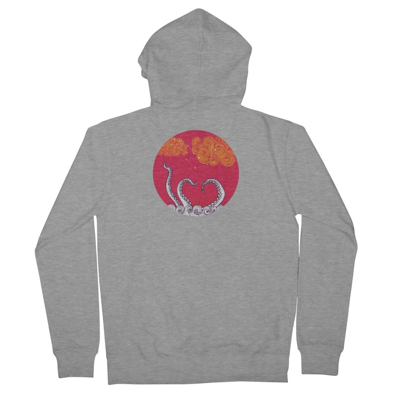 Kraken and Clouds Women's Zip-Up Hoody by catalinaillustration's Shop