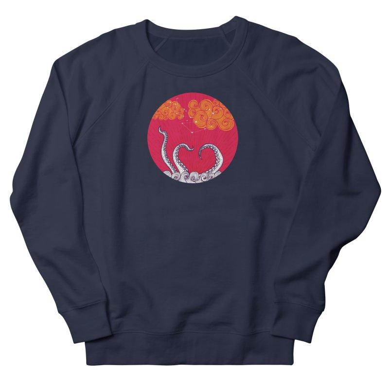 Kraken and Clouds Men's Sweatshirt by catalinaillustration's Shop