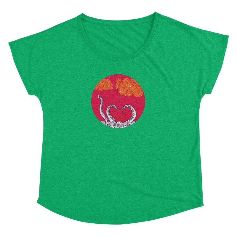 Kraken and Clouds Women's Dolman by catalinaillustration's Shop
