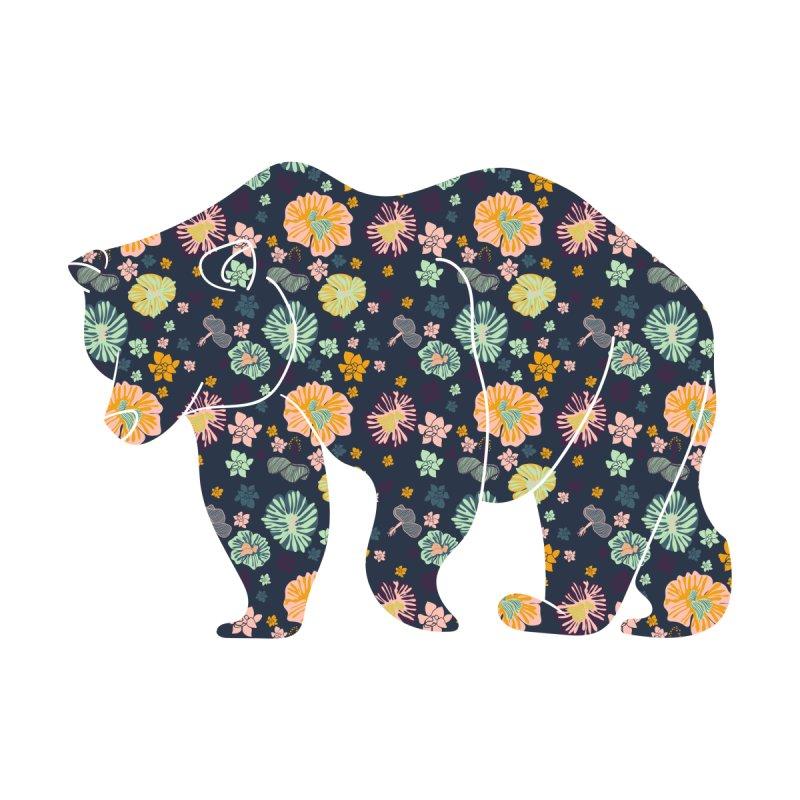Floral Bear by Catalina Villegas Illustration