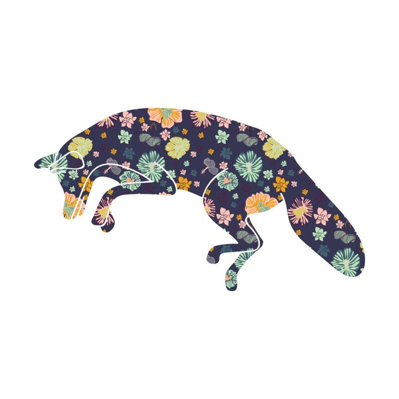 Floral Fox by Catalina Villegas Illustration