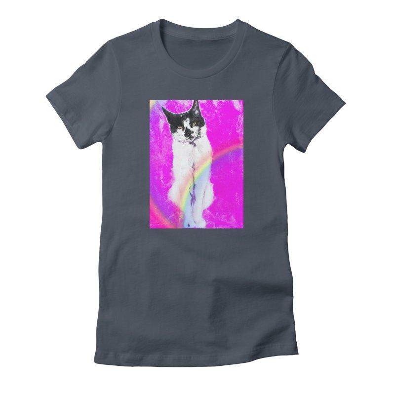 Charley Rainbow Women's T-Shirt by CatArt's Shop