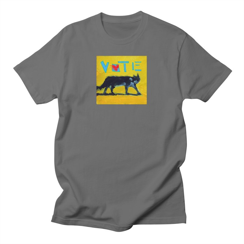 Vote with Heart Men's T-Shirt by CatArt's Shop