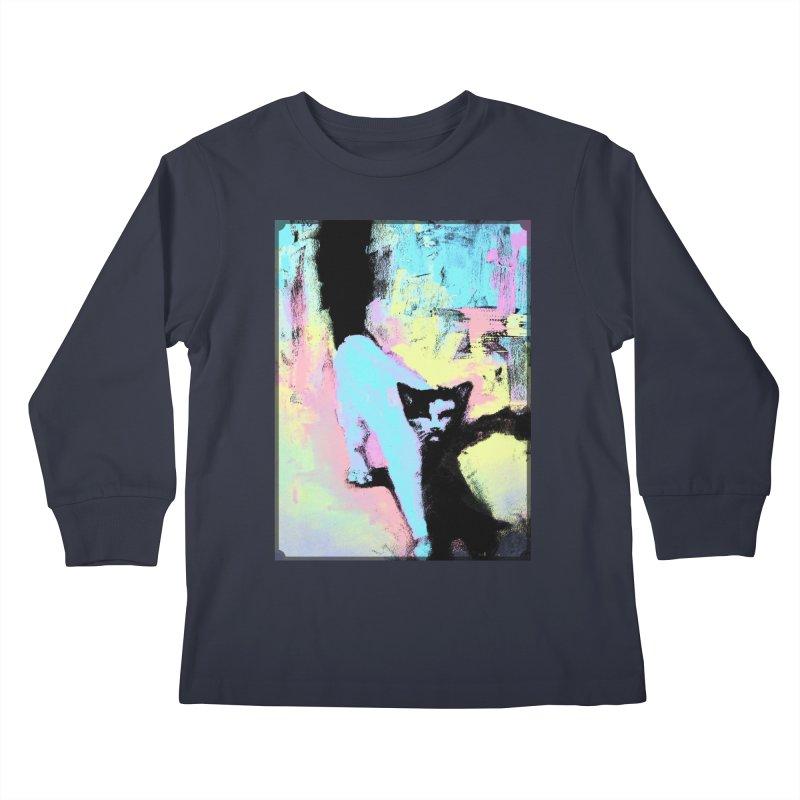 Strider Kids Longsleeve T-Shirt by CatArt's Shop