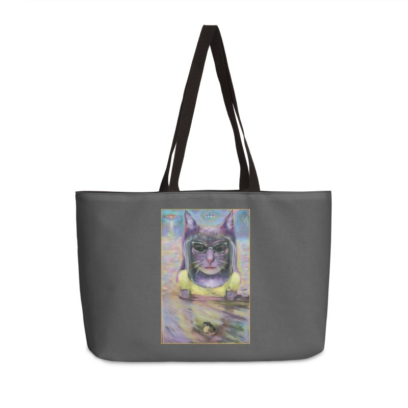 Climate Change Accessories Bag by CatArt's Shop