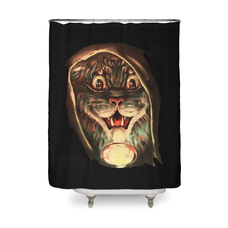 Happy Halloween! Home Shower Curtain by CatArt's Shop