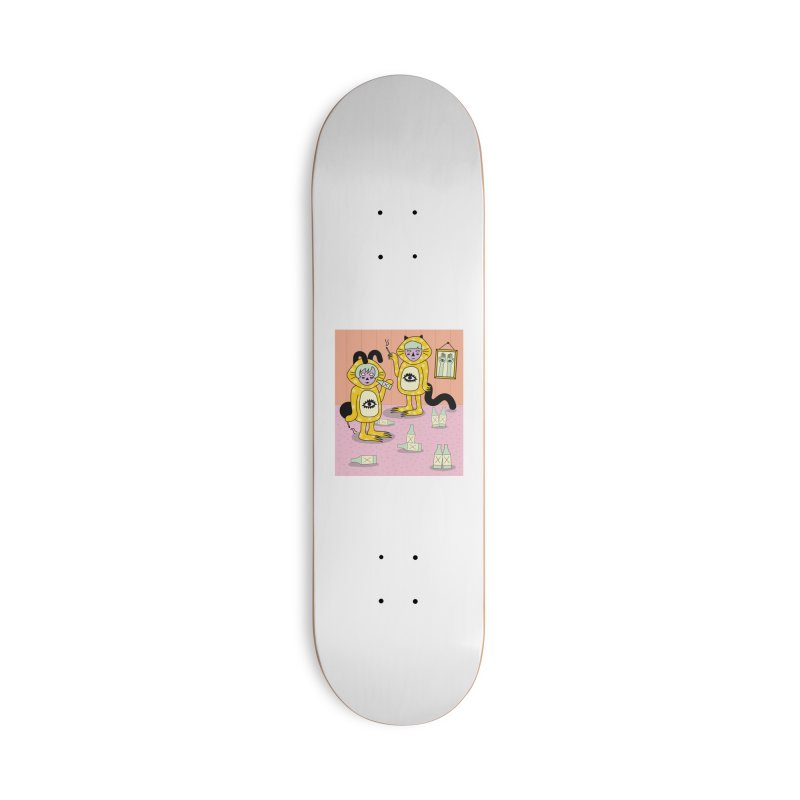 Little Savages Accessories Deck Only Skateboard by Cat Barrera Art