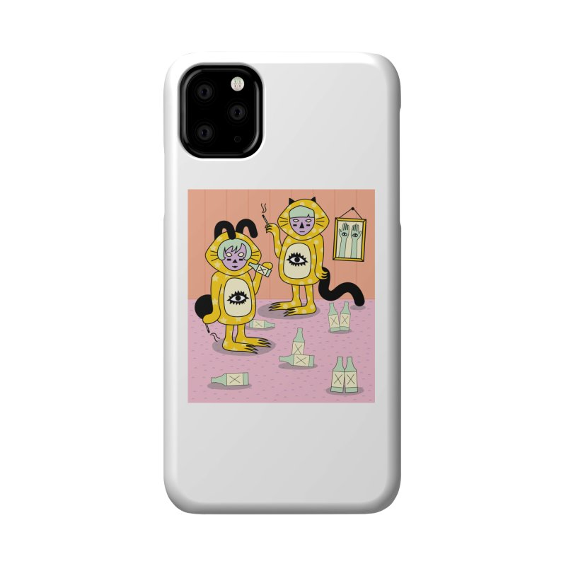Little Savages Accessories Phone Case by Cat Barrera Art