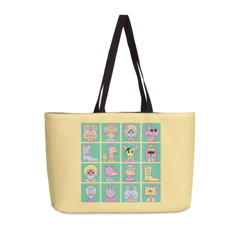 Yee Haw Accessories Weekender Bag Bag by Cat Barrera Art