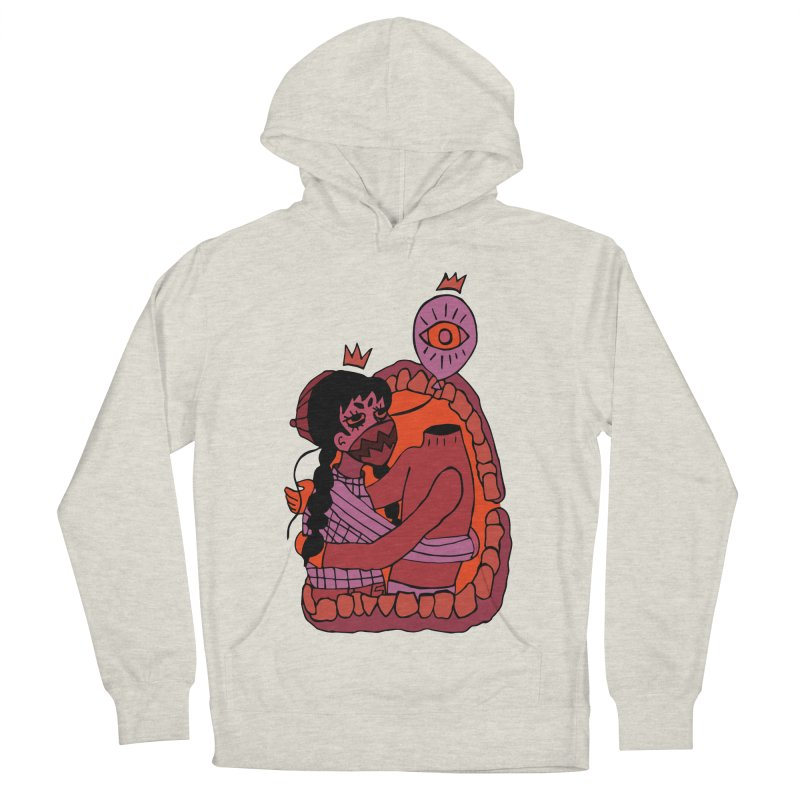 Balloon Head Men's French Terry Pullover Hoody by Cat Barrera Art