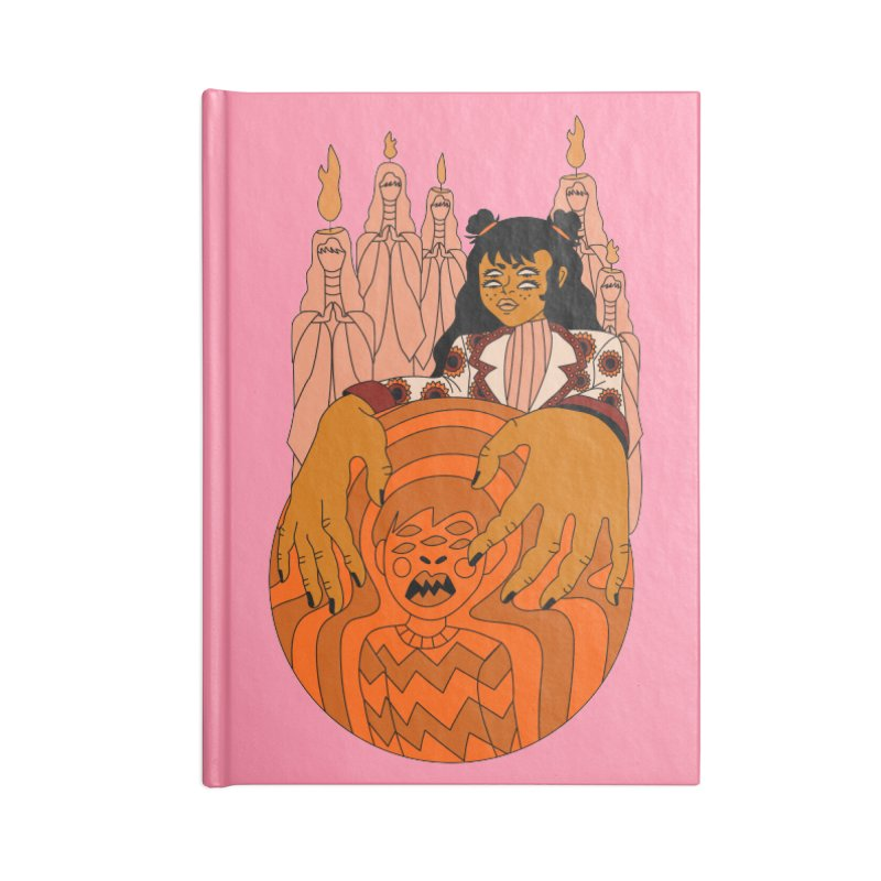 I put a spell on you Accessories Notebook by Cat Barrera Art