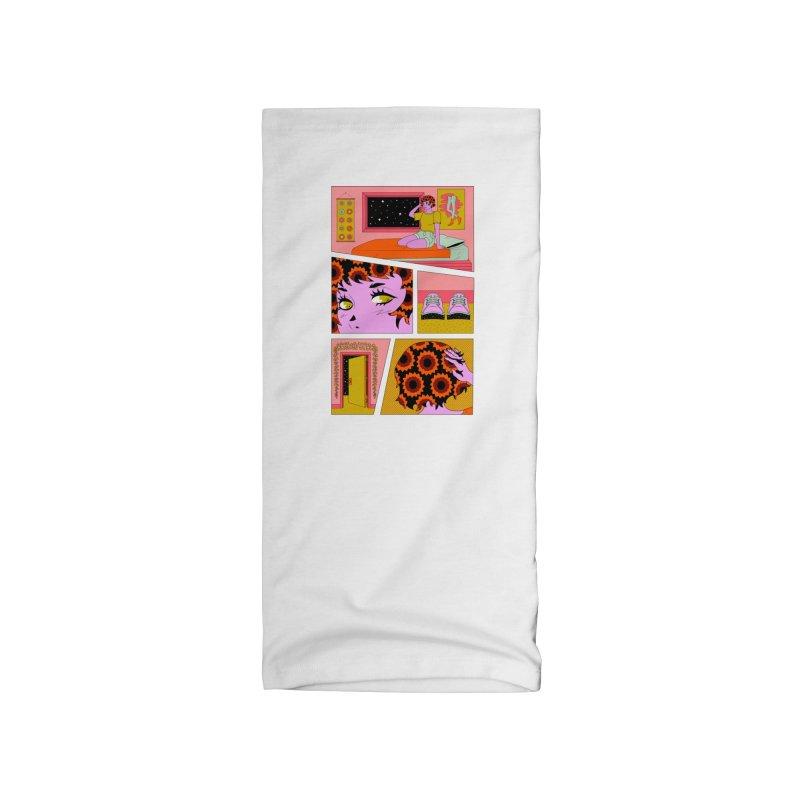 Bedroom Pop Accessories Neck Gaiter by Cat Barrera Art