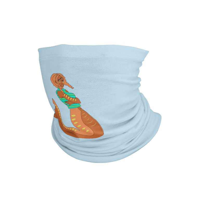 La Sirena Accessories Neck Gaiter by Cat Barrera Art