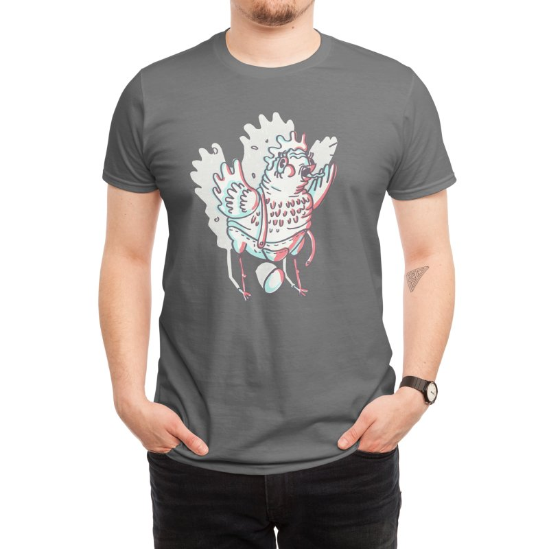 Ba-Gock! Men's T-Shirt by Beautiful Land-Mermaid