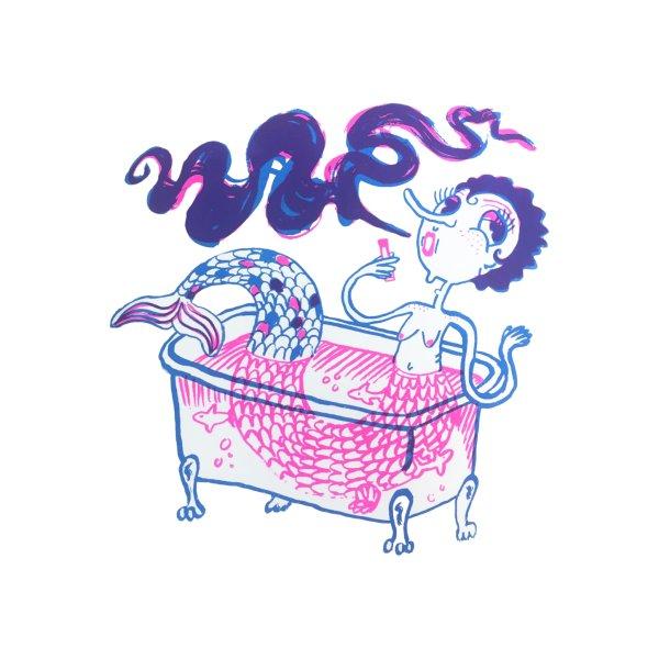 image for Mermaid Dans Baignoire