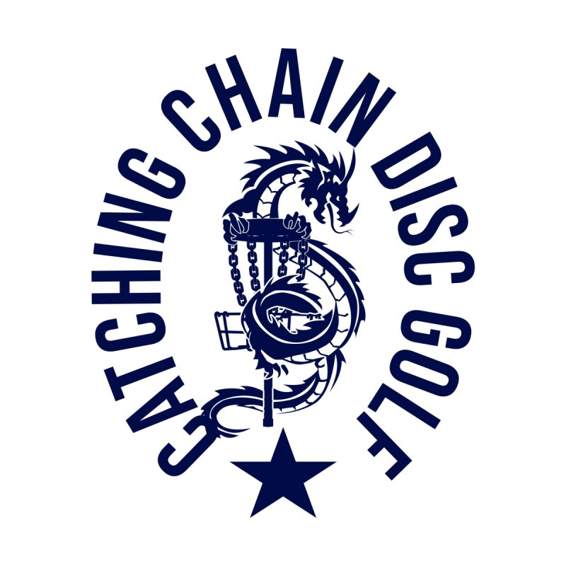 Dragon Men's T-Shirt by CATCHING CHAIN DISC GOLF BRAND