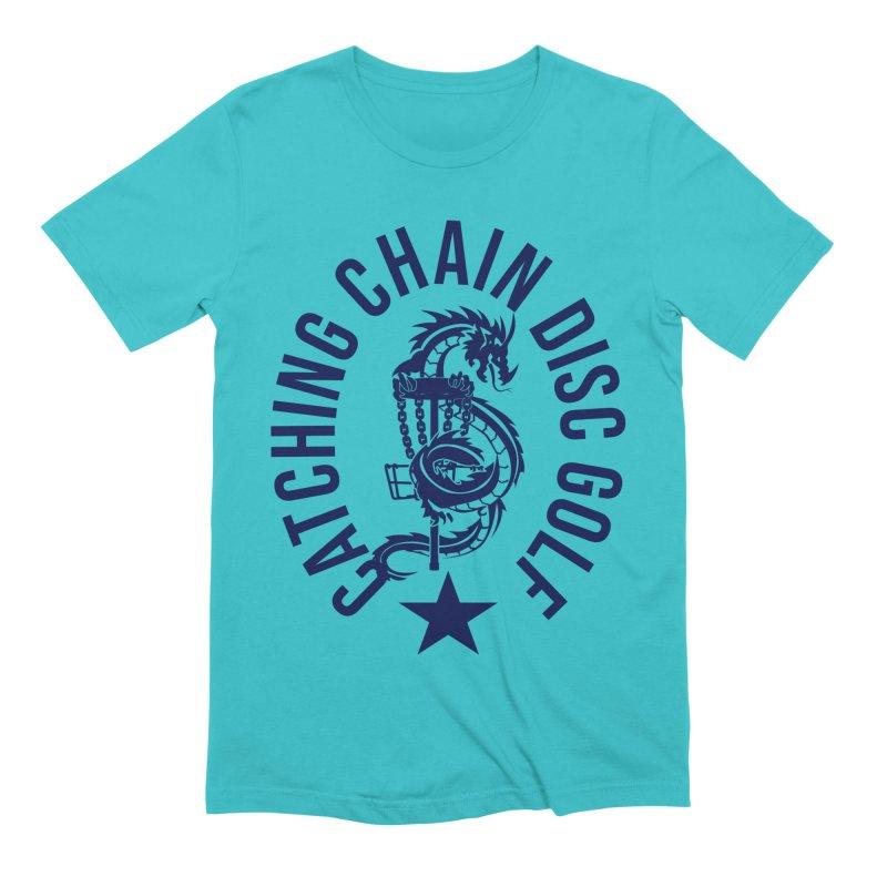 Dragon Men's T-Shirt by CATCHING CHAIN DISC GOLF BRAND
