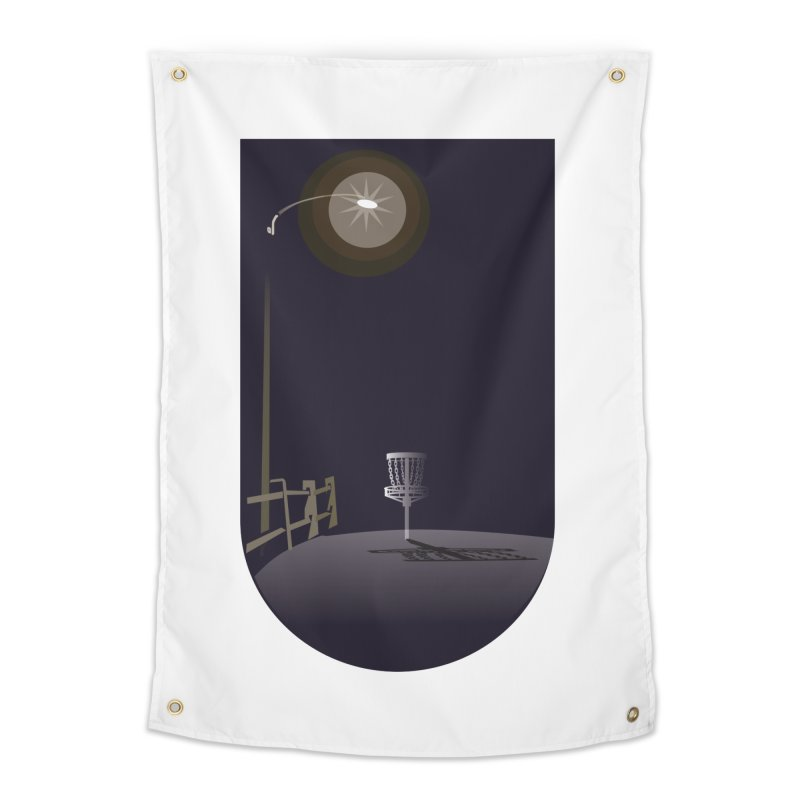 Night Flight Home Tapestry by CATCHING CHAIN DISC GOLF BRAND