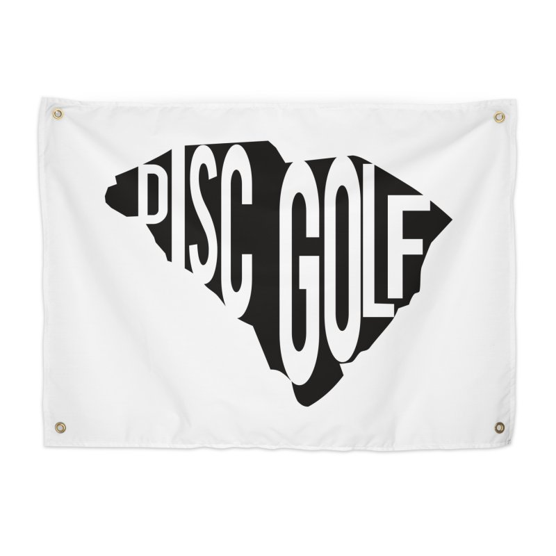 South Carolina Disc Golf Home Tapestry by CATCHING CHAIN DISC GOLF BRAND