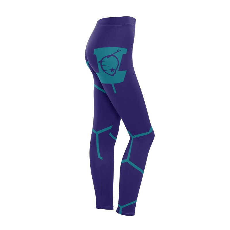 Hive Disc Golf Leggings Women's Bottoms by CATCHING CHAIN DISC GOLF BRAND