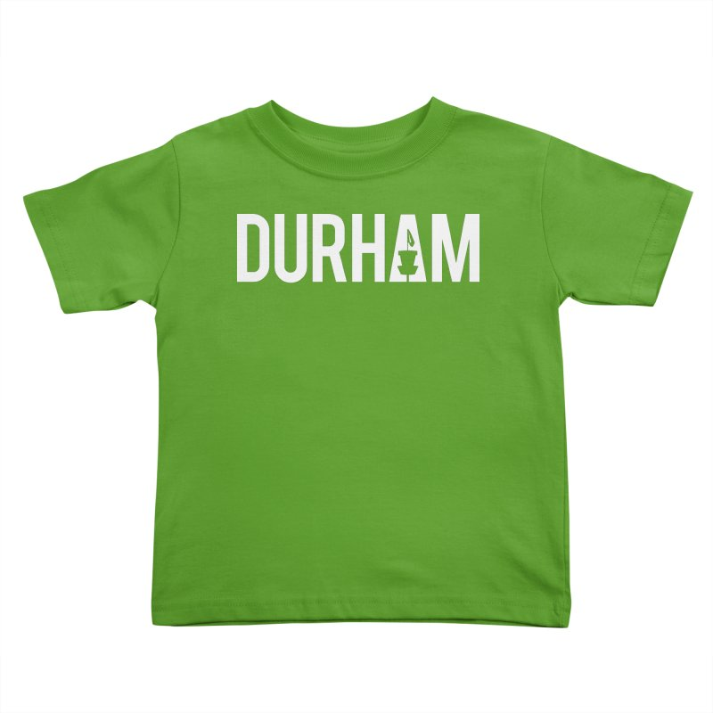 Durham Kids Toddler T-Shirt by CATCHING CHAIN DISC GOLF BRAND