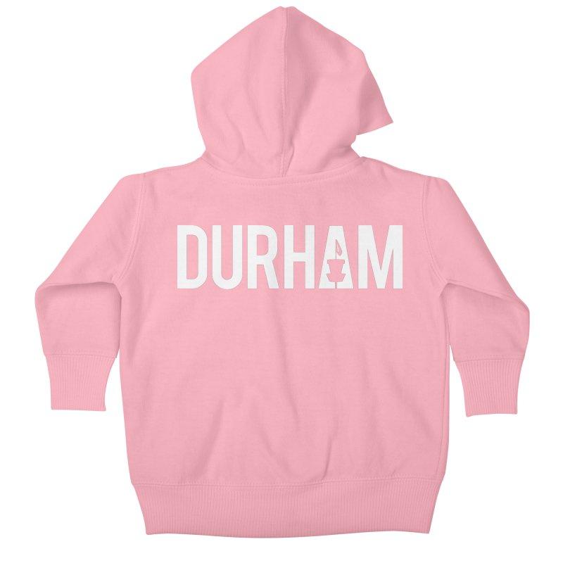 Durham Kids Baby Zip-Up Hoody by CATCHING CHAIN DISC GOLF BRAND