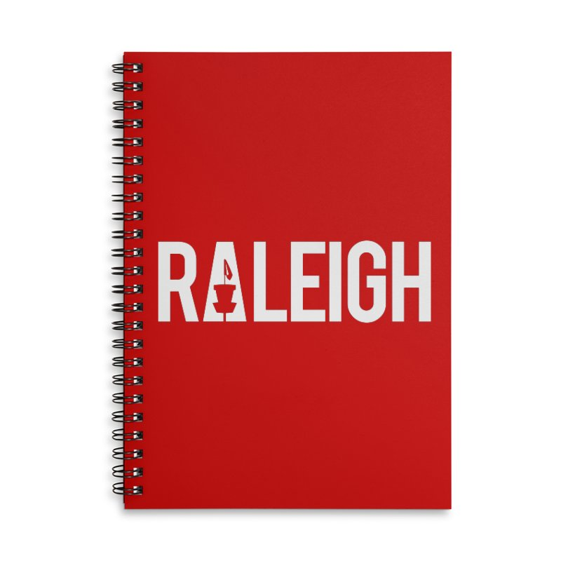 Raleigh Accessories Notebook by CATCHING CHAIN DISC GOLF BRAND