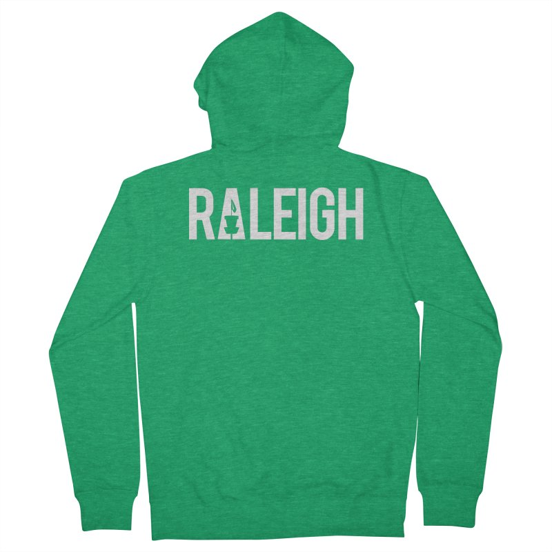 Raleigh Men's Zip-Up Hoody by CATCHING CHAIN DISC GOLF BRAND