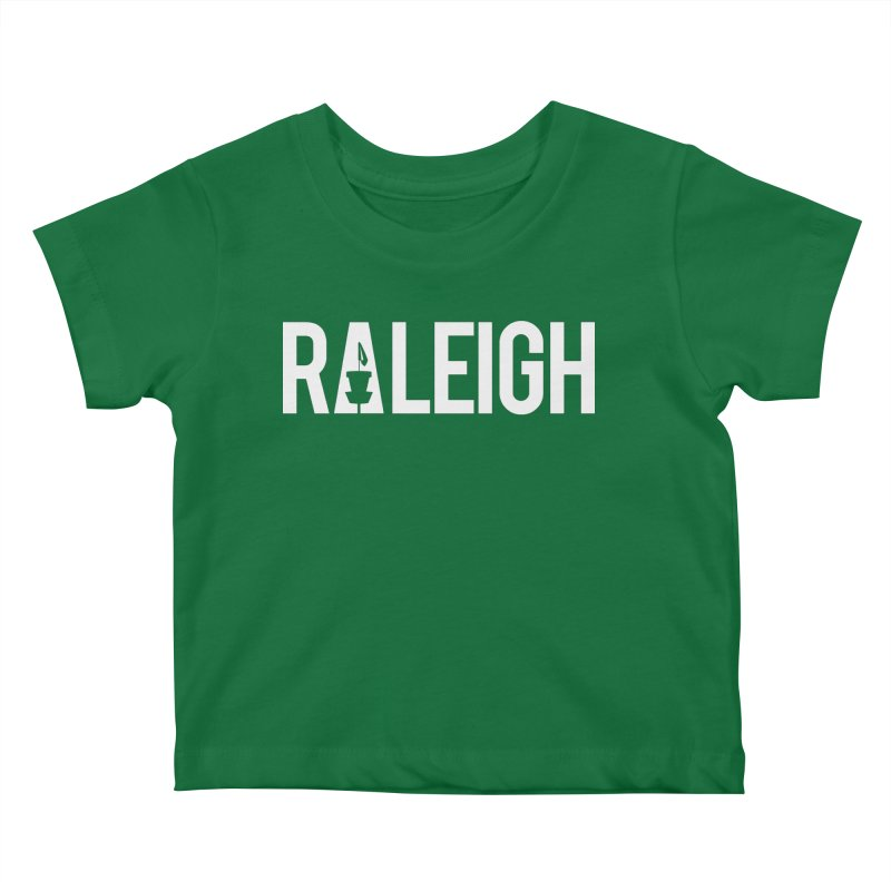 Raleigh Kids Baby T-Shirt by CATCHING CHAIN DISC GOLF BRAND