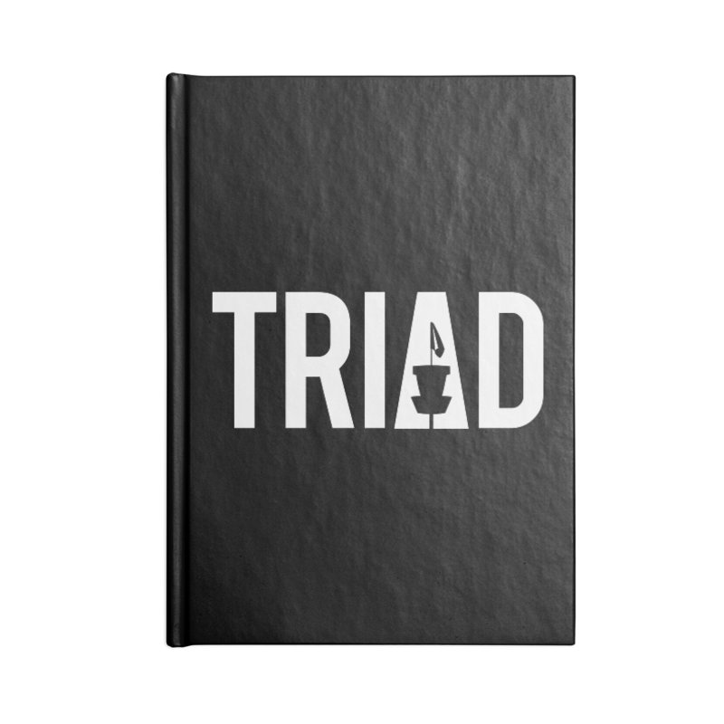 Triad Accessories Notebook by CATCHING CHAIN DISC GOLF BRAND