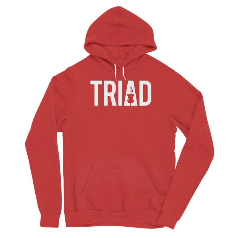 Triad Women's Pullover Hoody by CATCHING CHAIN DISC GOLF BRAND