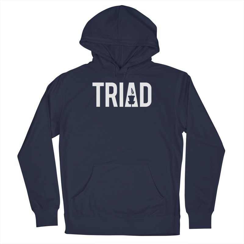Triad Men's Pullover Hoody by CATCHING CHAIN DISC GOLF BRAND