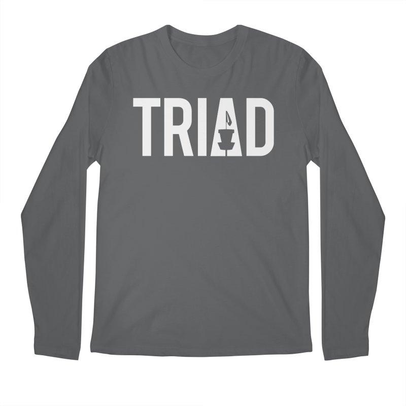 Triad Men's Longsleeve T-Shirt by CATCHING CHAIN DISC GOLF BRAND
