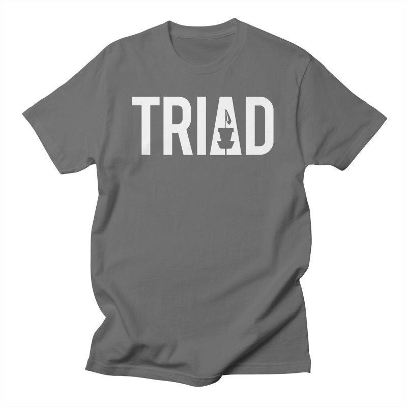 Triad Men's T-Shirt by CATCHING CHAIN DISC GOLF BRAND