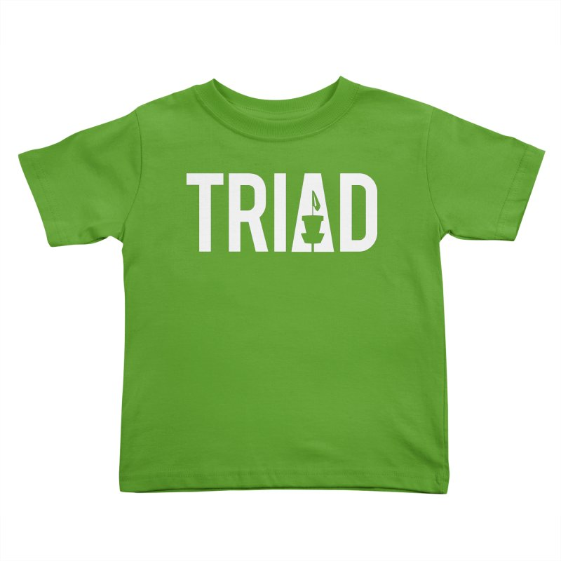 Triad Kids Toddler T-Shirt by CATCHING CHAIN DISC GOLF BRAND